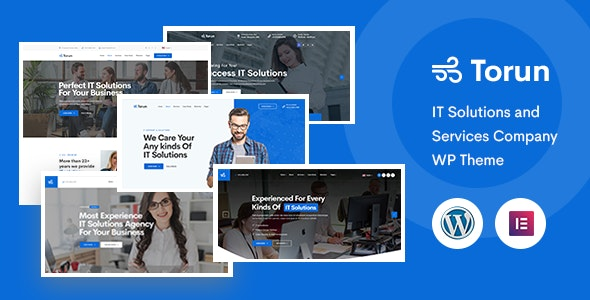 Torun - IT Services Company WordPress Theme