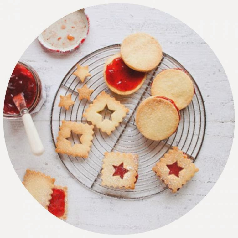 Shortbreads with Strawberry Conserve