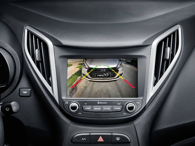 Hyundai HB20 2017 - central multimídia