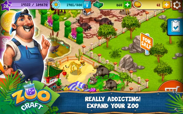 ZooCraft Full Apk