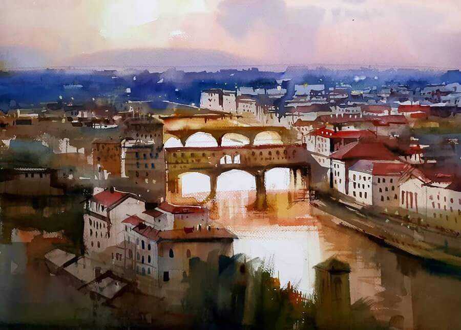 06-City-Skyline-Paintings-Milind-Mulick-www-designstack-co