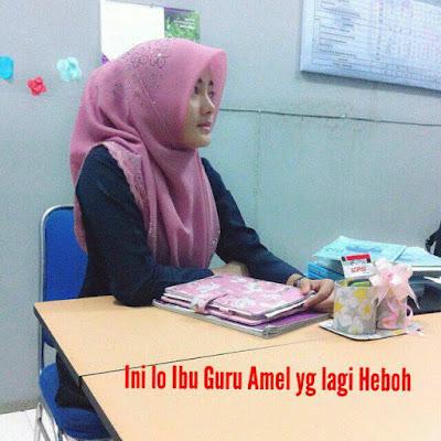 Sosok Ibu Guru Cantik Ini Diduga yang Bikin Bapak dan Ibunya Amel Nggak Akur