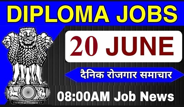 Diploma Jobs 2021