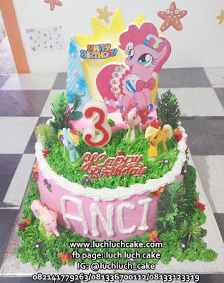 Birthday Cake My Little Pony Cantik Murah