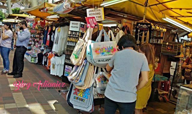 Central Market, Kuala Lumpur | Singgah makan tengahari...