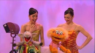 Lorena  Feijóo, Lorna Feijóo, celebrity, Zoe, Murray, Lamberena dance, Sesame Street Episode 4404 Latino Festival season 44