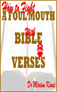 How to Fight a Foul Mouth with Bible Verses 2nd Edition teaches you the awesome Bible verses you can pray as spiritual warfare prayers, say as Christian affirmations and reflect on as Christian meditations to help you sanitize your speech.