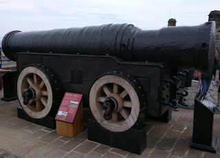 Mons Meg cannon, Edinburgh Castle, Edinburgh, Scotland