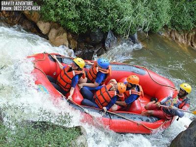 body rafting di pangalengan