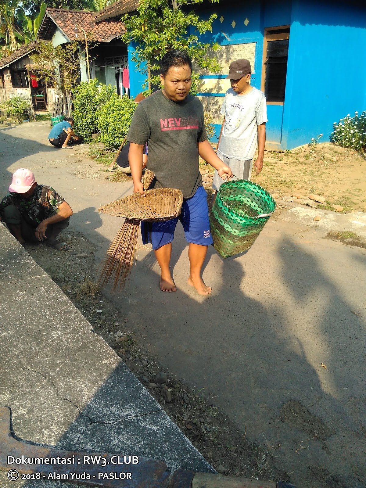 Imam Sofyan, Suliyanto - Kerja Bakti RW-3 Pasuruhan Lor, Kudus