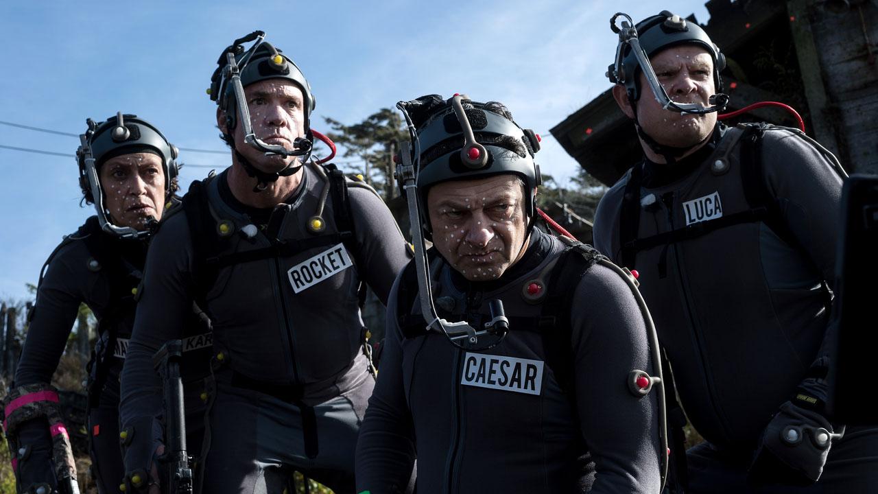 La guerra del planeta de los simios - Serkis captura de movimiento
