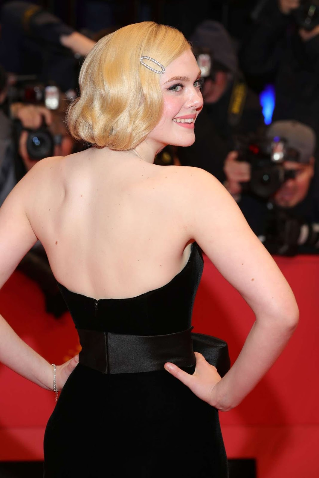"Elle Fanning – Premiere of ""The Roads Not Taken"" at 70th Berlinale Film Festival"