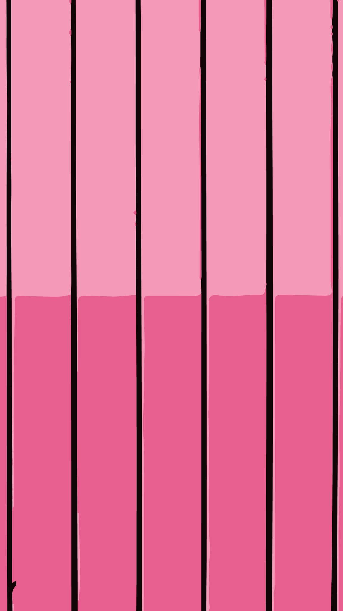 Simple wall pink two tone background for mobile phone in 4k