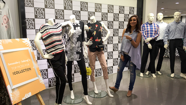 Anoushey Ashraf unveil The Collection at Debenhams