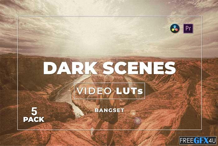 Bangset Dark Scenes Pack 5 Video LUTs
