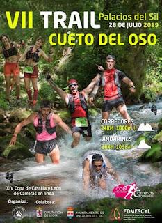 Clasificaciones trail Cueto del Oso 2019