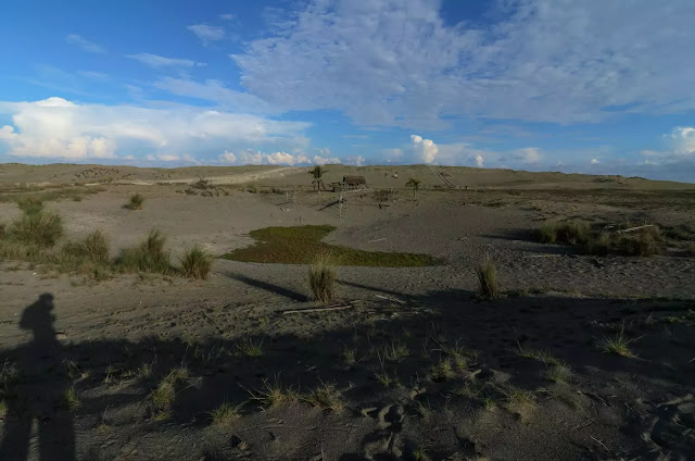 Culili Point Paoay Vast Sand Dunes Ilocos Norte Philippines