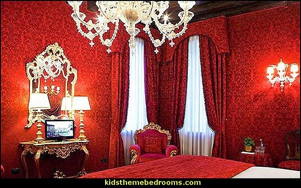 Decorating theme bedrooms  Maries Manor Moulin Rouge