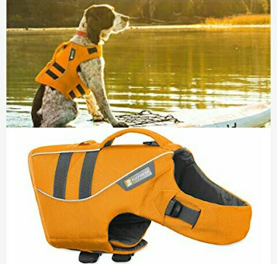 RuffWear Life Jacket for Dogs - Reflective K-9 Float Coat for Pet Animals