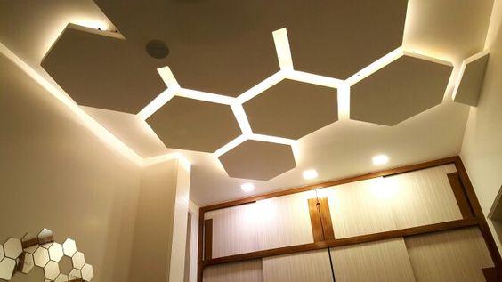 pop false ceiling designs for hall with led lights pop false ceiling ...