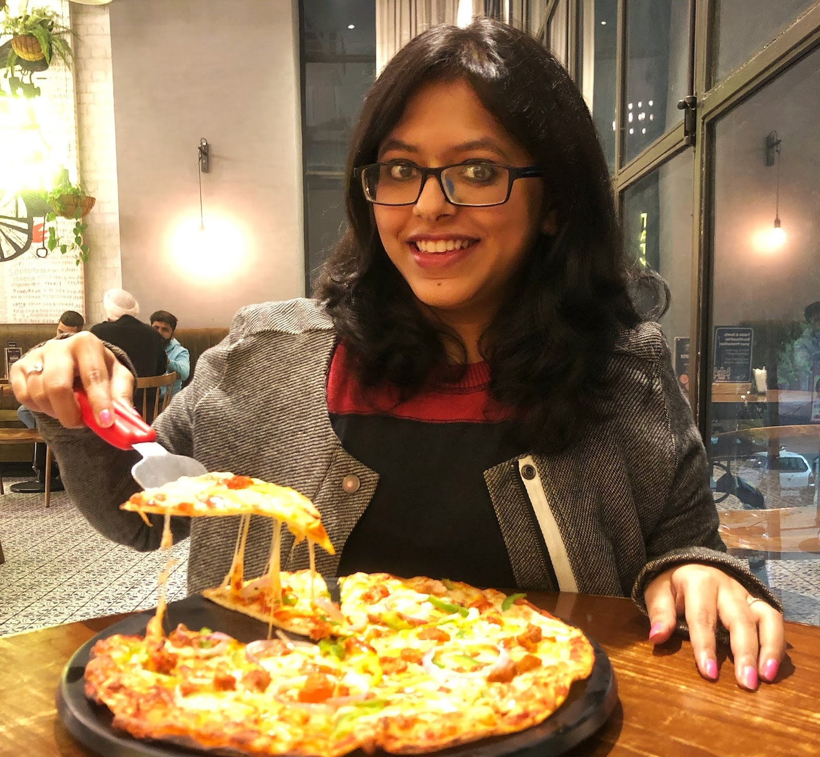 Anviti - My Page Is A Source Of Happines, It Motivates Me To Share My Journey With Food Experiments And Most Of All Make People Aware Of New Places To Eat (Food Blogger, India)