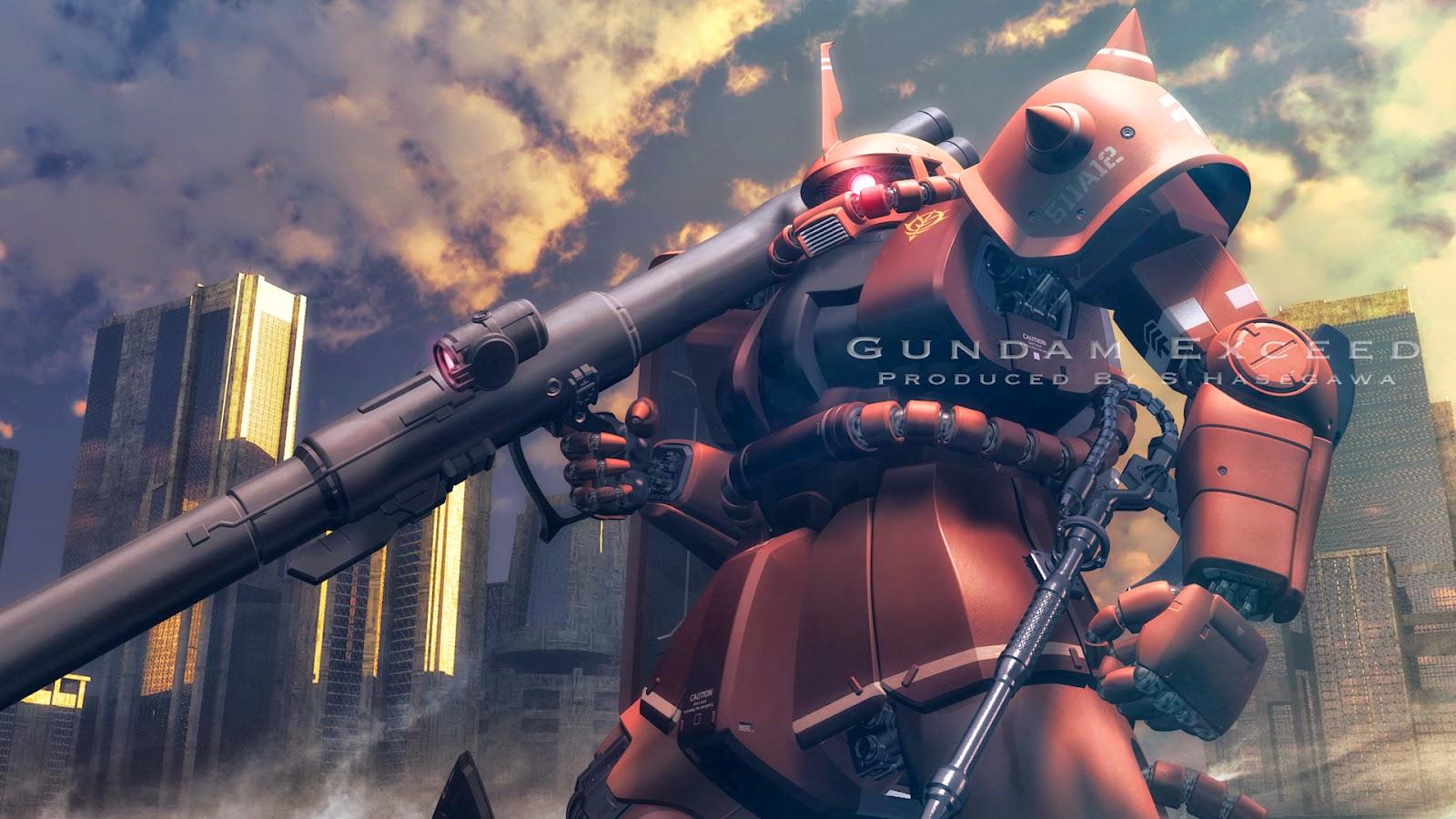 Gundam Exceed Zaku II ...