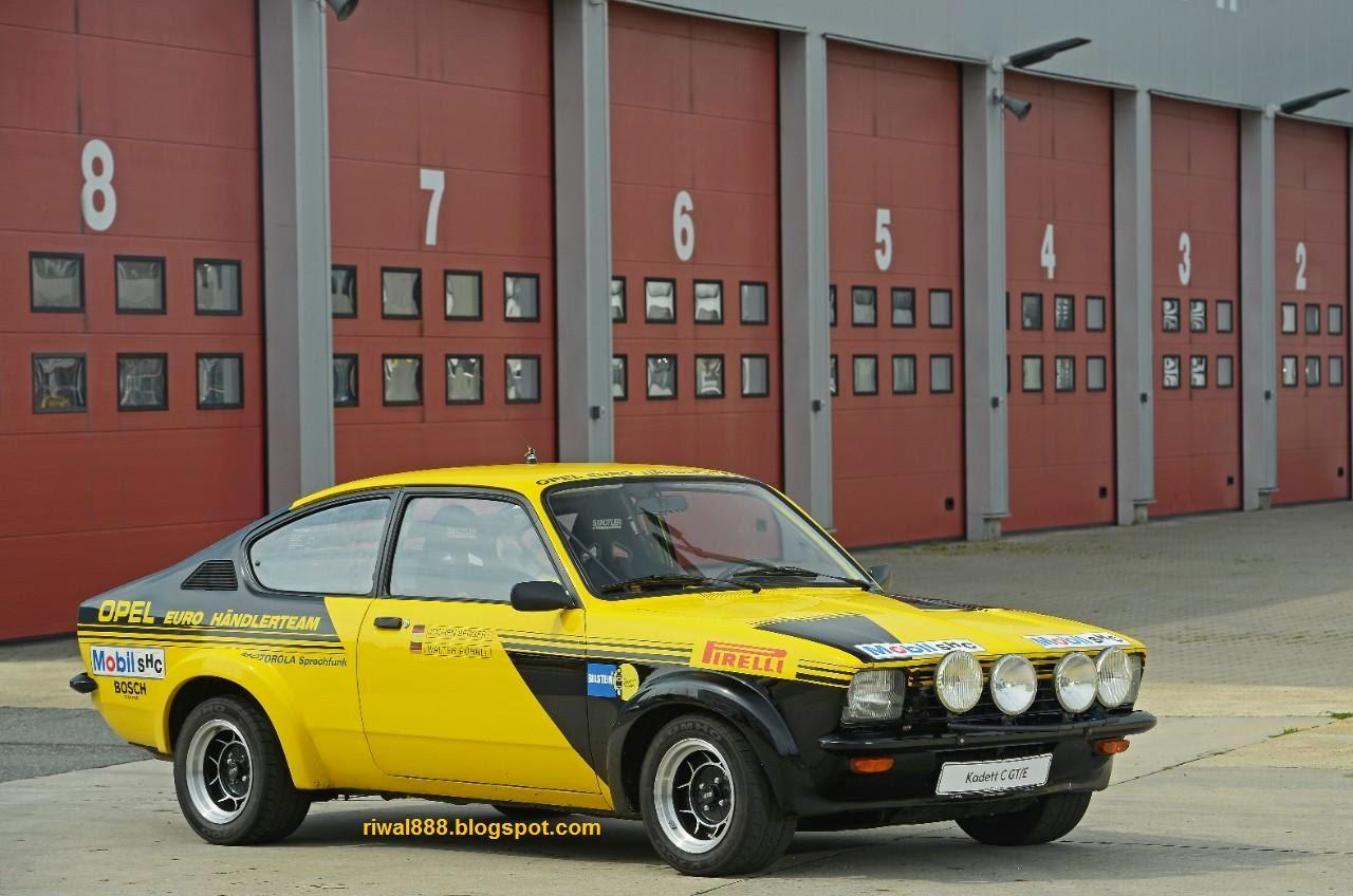 Opel kadett c gt e coup 1976 group 4 car from walter r hrl und jochen berger