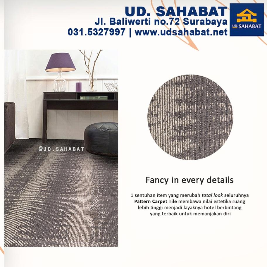 jual karpet tile per meter surabaya murah ud sahabat