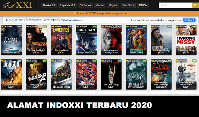 Alamat link web indoxxi terbaru 2021