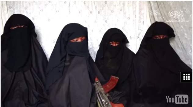 Chibok girls AK47