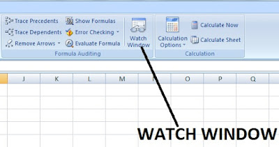 What is Watch Window in Excel and its use in Hindi