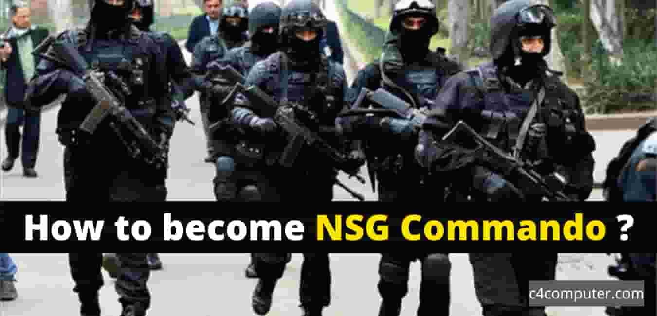 How to become NSG Commando