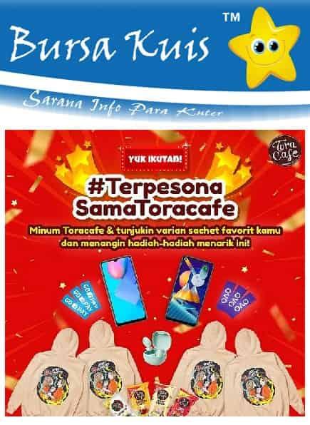Kuis Online terbaru Toracafe Berhadiah Smartphone