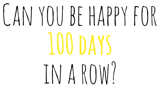 100 Happy Days Project