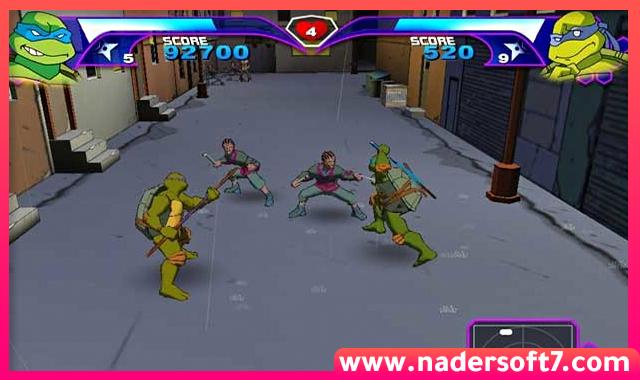 تحميل لعبة سلاحف النينجا 1 Ninja Turtles الاصلية للكمبيوتر من ميديا فاير