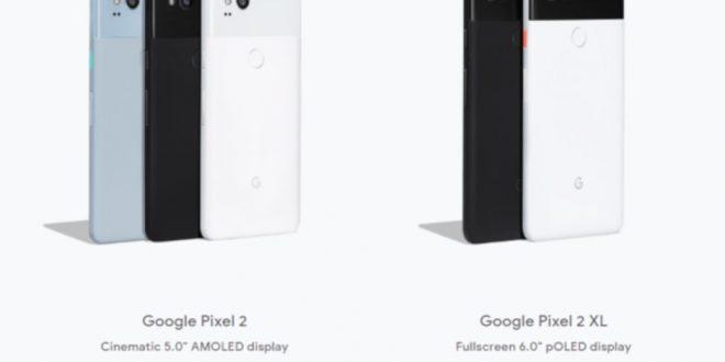 جوجل تخفض سعر هاتف بيكسل 2 الى 600 دولار