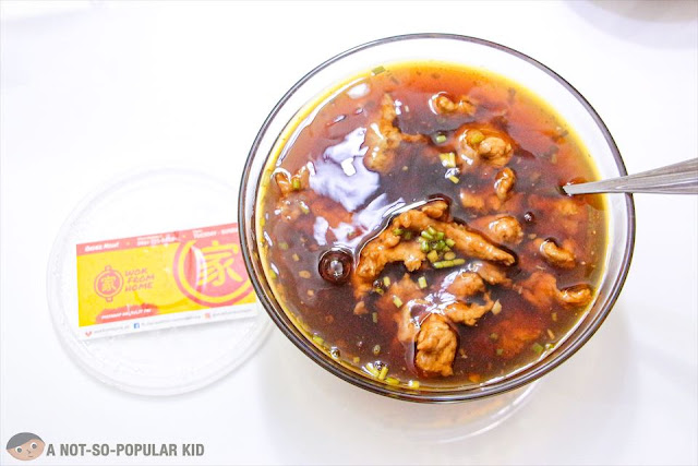 Wok From Home - Ahma's Maki (Soup with Pork)