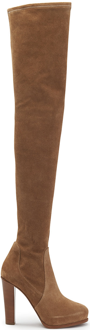 Ralph Lauren Suede Noa Boot in Camel