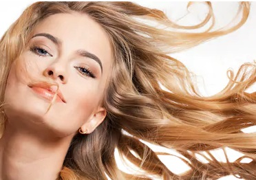 Dry Hair with Natural Wind