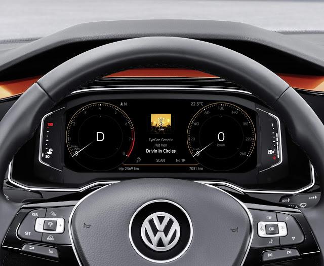 Novo VW Polo 2018 - painel digital Active Info Display