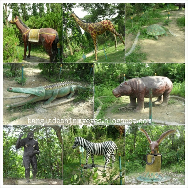 Ramsagar-National-Park-Animal-Sculptures