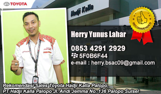 Toyota Palopo Sulawesi Selatan