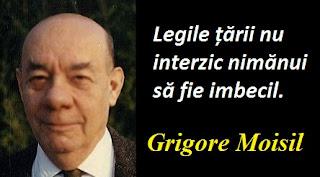 Maxima zilei: 10 ianuarie - Grigore Moisil