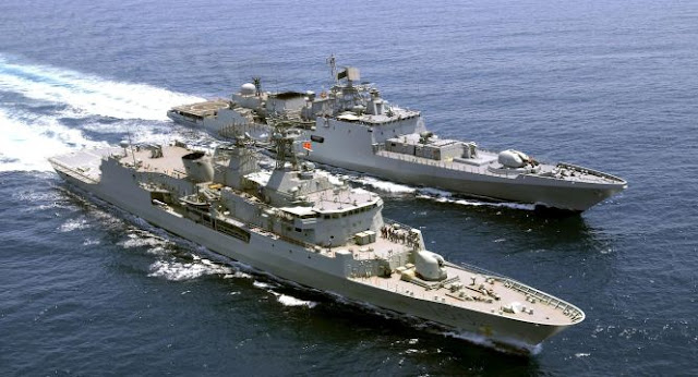 India-Deploys-four-Front-Line-Stealth-Warships-to-South-China-Sea-on-Active-Deterrent-Patrol