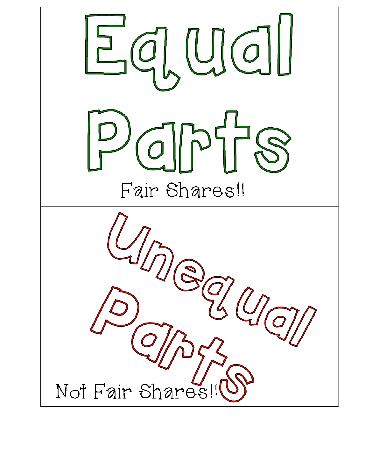Equal Or Unequal Worksheet Grade 1   Printable Worksheets and Activities  for Teachers [ 1600 x 1299 Pixel ]
