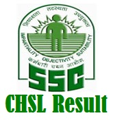SSC CHSL Result Tier 1 with Marks