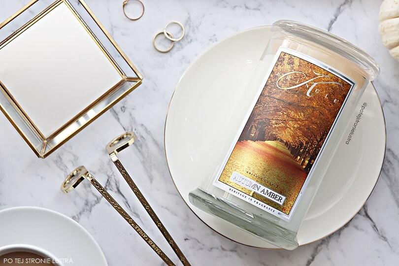 kringle candle autumn amber nowość jesień 2018