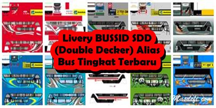 livery bussid sdd bimasena alias bus tingkat