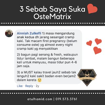 Testimoni OsteMatrix: 3 Sebab Kenapa Mereka Suka OsteMatrix