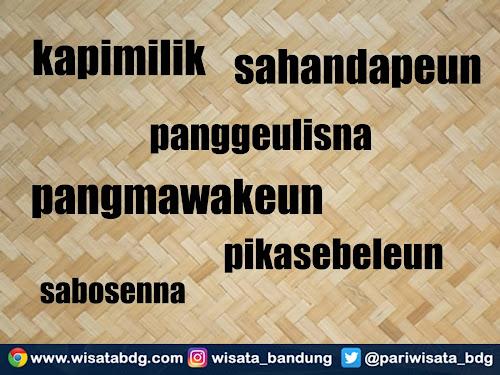 imbuhan gabungan dalam bahasa sunda
